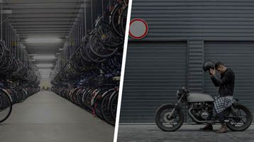 przechowalnia rowerów i motocykli
